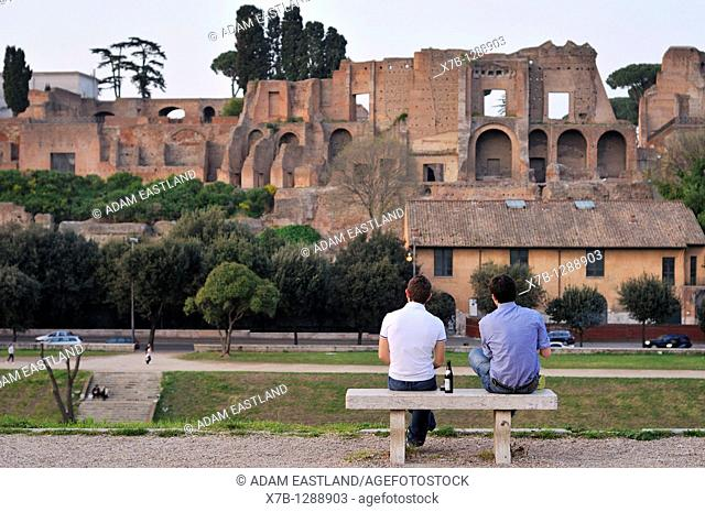 Rome  Italy  The Palatine  Palatino