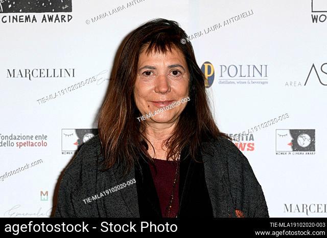 The director Antonietta De Lillo during the photocall of award WICA Women in Cinema Award at the 15th Rome Film Festival, Alice nella citta', Rome