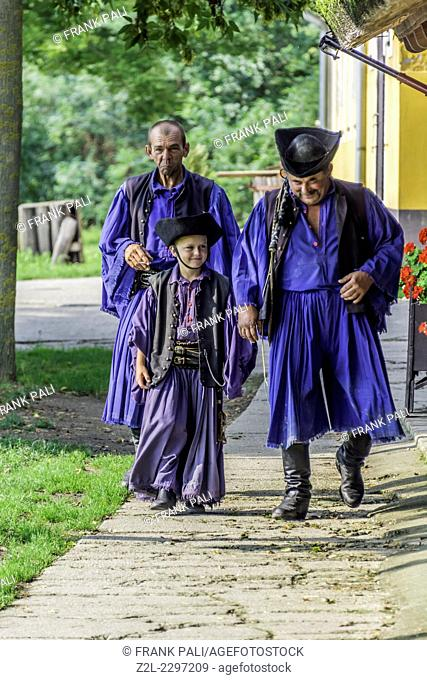 Hungary is home to an array of unusual animals and farming practices. Flamboyant csikos horsemen (hungarian cowboy) are the region's cowboys