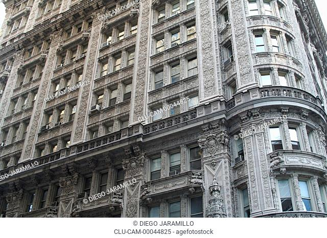 Architectural Detail, Manhattan, New York, United States, North America