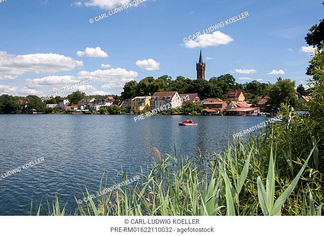 Haussee, Feldberg, Feldberger Seenlandschaft, Mecklenburgische Seenplatte district, Mecklenburg-Vorpommern, Germany / Haussee, Feldberg