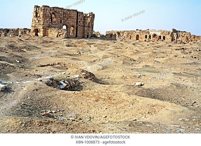 Resafah, Byzantine city in desert 6 cent , Syria