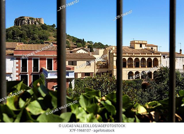 Begur.` Indianos' houses.Costa Brava. Girona province. Catalonia. Spain