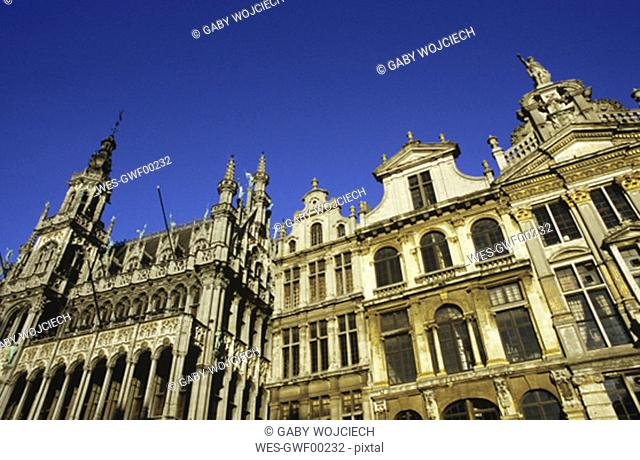 Belgium, Brussels, Grote Markt