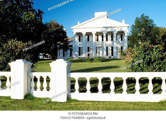 mansion, Geneva, NY, New York, Finger Lakes, Rose Hill Mansion a 1839 Greek Revival. A National Historic Landmark