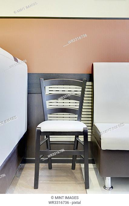 Chair and Booth