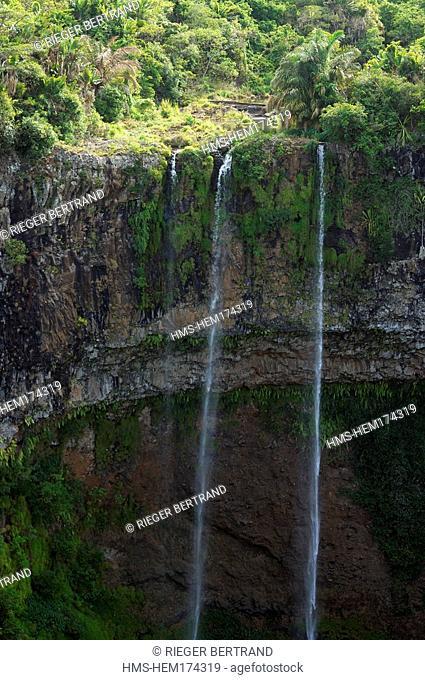 Mauritius island, Chamarel region, Chamarel waterfall