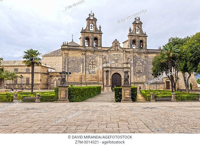 Basílica de Santa María de los Reales Alcázares. Ubeda. Jaen Province. Andalusia. Spain