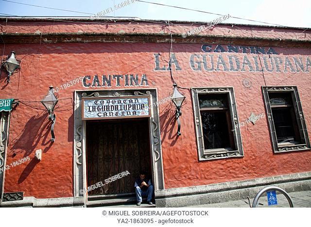 La Guadalupana Canteen in Coyoacan - Mexico City DF