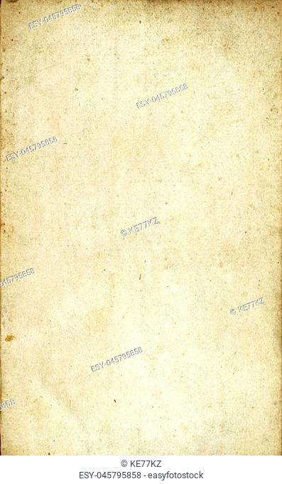Aging dirty paper background. Natural old paper texture for the design