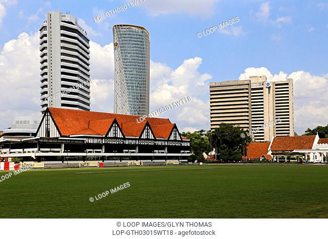 Independence Square with the Selangor Club behind in Kuala Lumpur