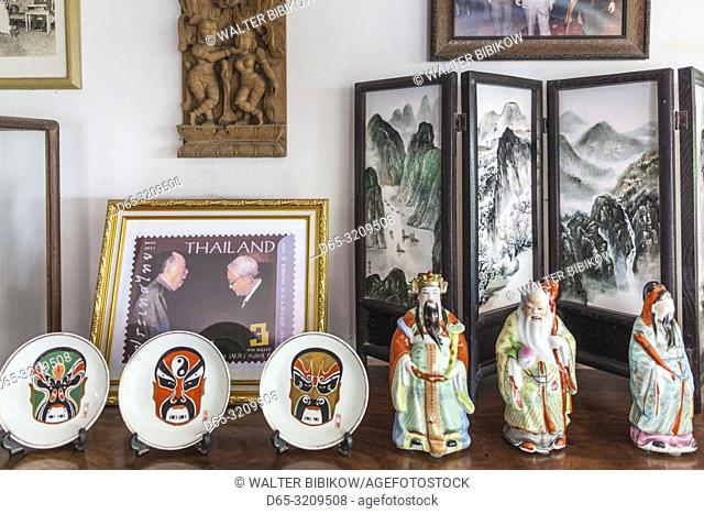 Thailand, Bangkok, Silom Area, MR Kukrit Pramoj House, home of former Thai Prime Minister, interior