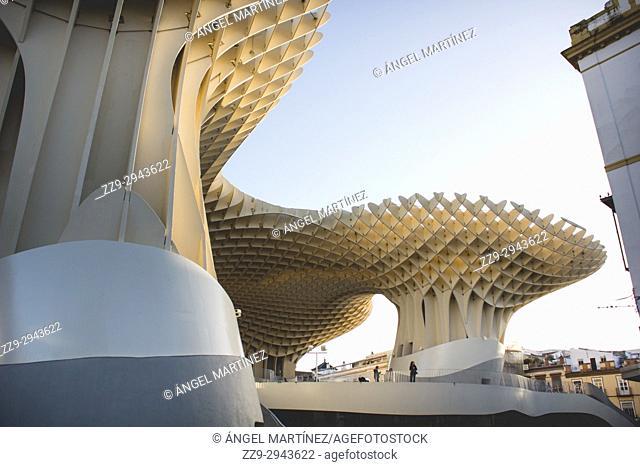 The Mushrooms Metropol Parasol Seville Andalusia Spain, Encarnación Square, Las Setas