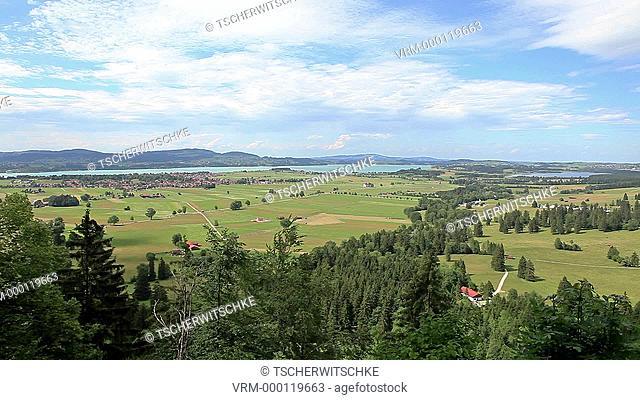 Füssen, Bavaria, Germany, Europe