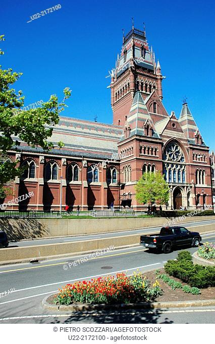 Cambridge, Massachusetts, U.S.A., the Memorial Church