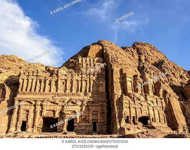 Palace and Corinthian Tombs, Petra, Ma'an Governorate, Jordan