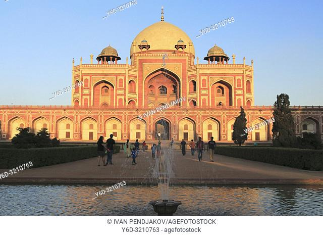 Humayun Tomb, New Delhi, India