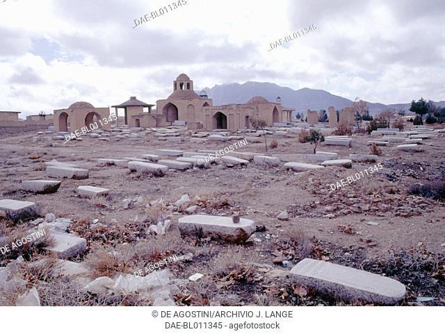 The Jewish cemetery in Pir Bakran, Iran