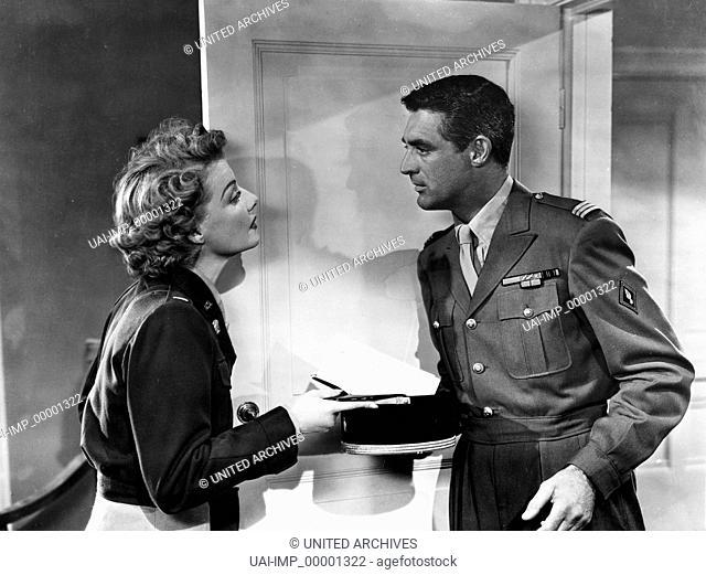 Ich war eine männliche Kriegsbraut, (I WAS A MALE WAR BRIDE) USA 1949, Regie: Howard Hawks, ANN SHERIDAN, CARY GRANT, Stichwort: Uniform