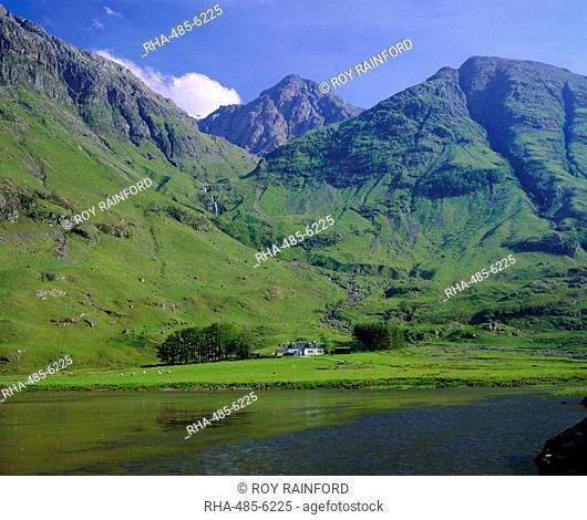 Glencoe Glen Coe, Highlands Region, Scotland, UK, Europe