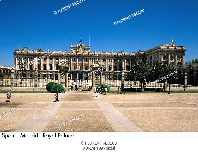 Spain - Madrid - Royal Palace Spain