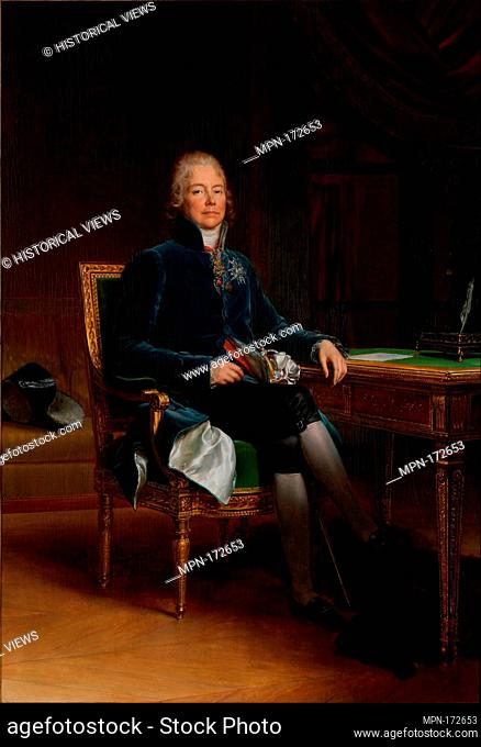 Charles Maurice de Talleyrand Périgord (1754-1838), Prince de Bénévent. Artist: baron François Gérard (French, Rome 1770-1837 Paris); Date: 1808; Medium: Oil on...