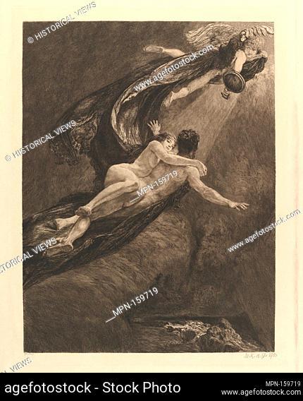 New Dreams of Happiness (from the series A Love). Artist: Max Klinger (German, Leipzig 1857-1920 Großjena); Publisher: Wilhelm Felsing; Date: 1887-1903; Medium:...