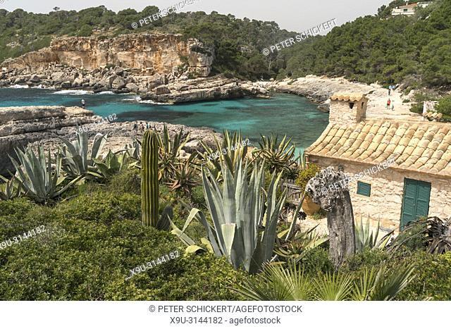 Cala s'Almunia, Santanyí, Mallorca, Balearen, Spanien | Cala s'Almunia, Santanyí, Majorca, Balearic Islands, Spain,