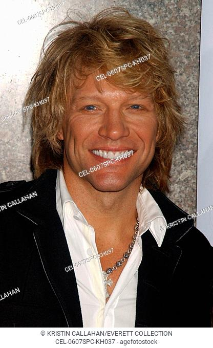 Jon Bon Jovi at arrivals for Fashion Rocks Benefit Concert for Elton John AIDS Foundation, Radio City Music Hall at Rockefeller Center, New York, NY