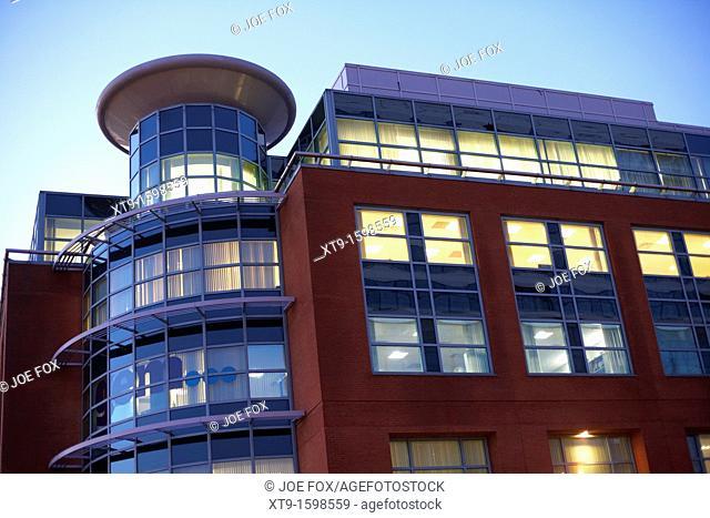 new modern office building in belfast northern ireland uk united kingdom