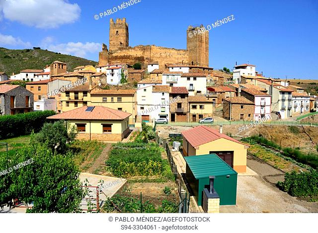 Castle of Vozmediano, Soria, Spain