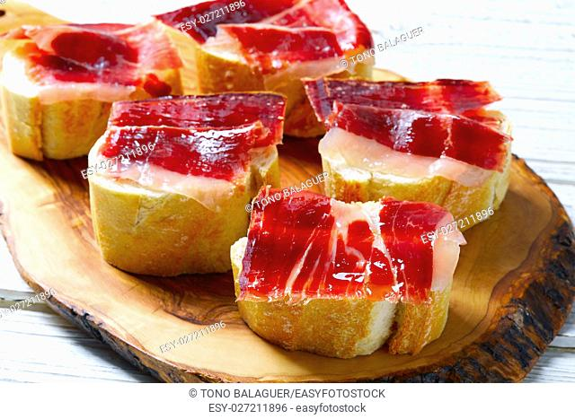 iberian ham from Spain tapas pinchos food recipes