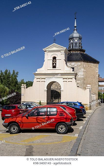 Ermita de Jesús Nazareno -Capilla del Cristo, barroca, siglo XVIII, Almazán, Soria, comunidad autónoma de Castilla y León, Spain, Europe