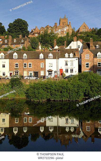 90900293, River Severn, High Town, Bridgnorth, Shr