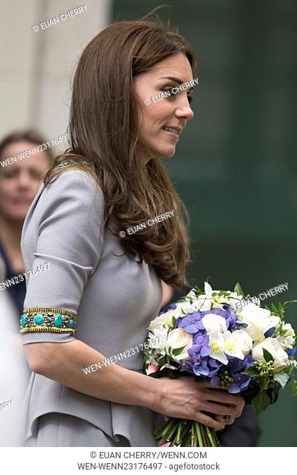 The Duchess of Cambridge attends Place2Be's Headteacher Conference at the Bank of America Merrill Lynch Offices. Featuring: Catherine