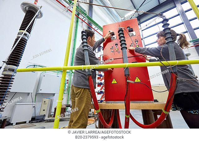 HIGH VOLTAGE LABORATORY. Test bench to conduct dielectric tests for High Voltage products - up to 362 kV. Development and Certification Laboratories for...