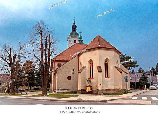 Church of Saint Imrich, Casta, Slovakia
