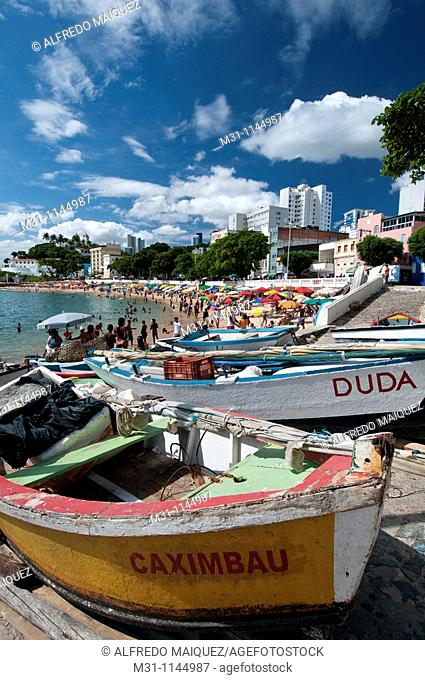 Porto da Barra beach, Salvador de Bahia, Brasil