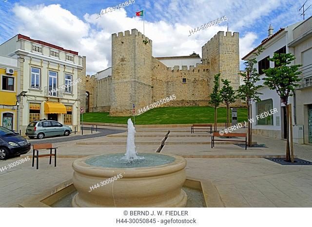 Fortress wall, Castelo de Loulé, Loulé Portugal