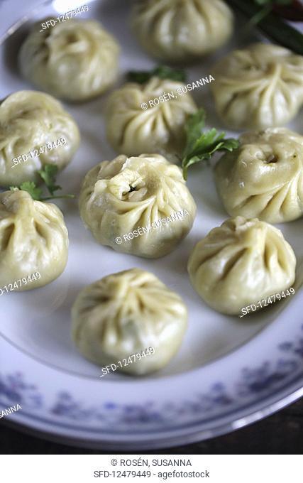 Momos (Tibet pastry dumplings)