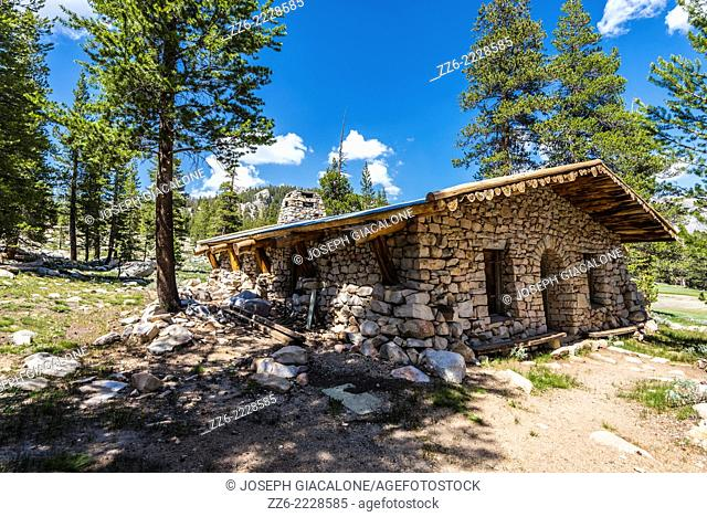 The Parsons Memorial Lodge building. Yosemite National Park, California, United States