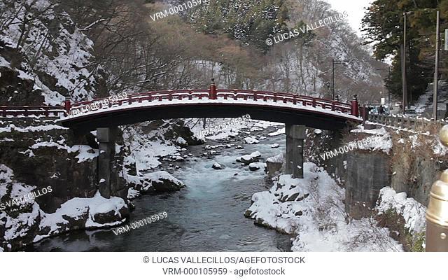 Shinkyo sacred bridge,Nikko,Japan