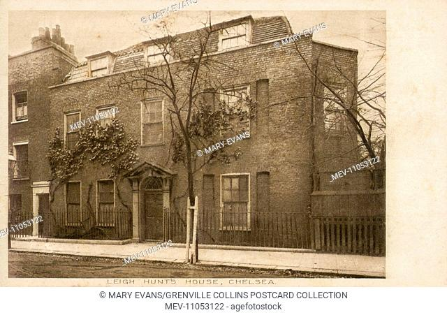The Home of James Henry Leigh Hunt (19 October 1784 – 28 August 1859), best known as Leigh Hunt, was an English critic, essayist, poet