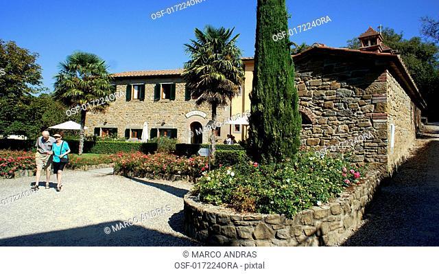 italiy, Tuscany, Cortona