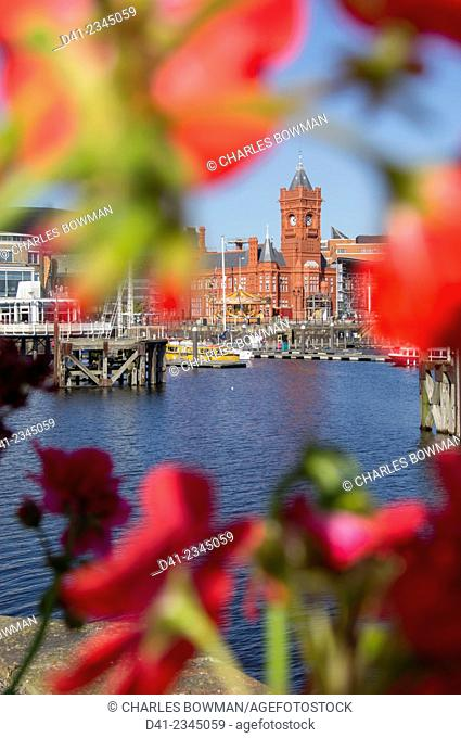UK, Wales, Cardiff, city, Pierhead building