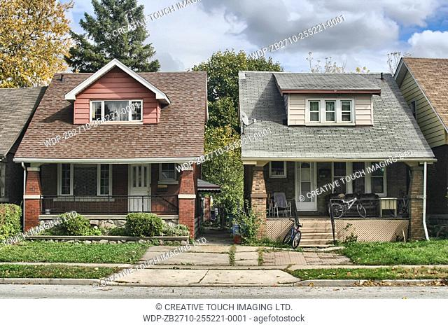 Houses in Windsor, Ontario, Canada