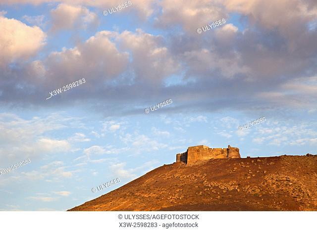 Castillo de Santa Barbara, Teguise, Lanzarote island, Canary archipelago, Spain, Europe