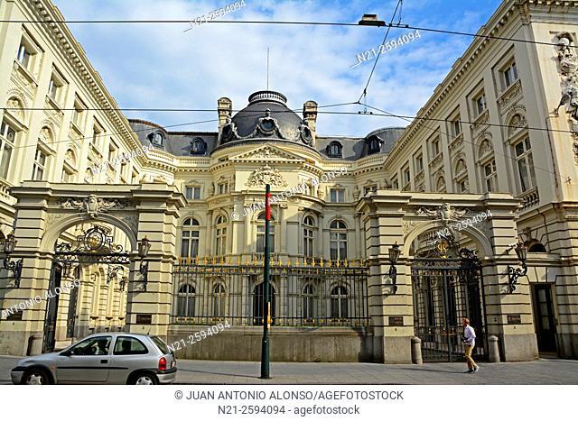 Court of Audit of Belgium (Cour des Comptes). Brussels, Belgium, Europe
