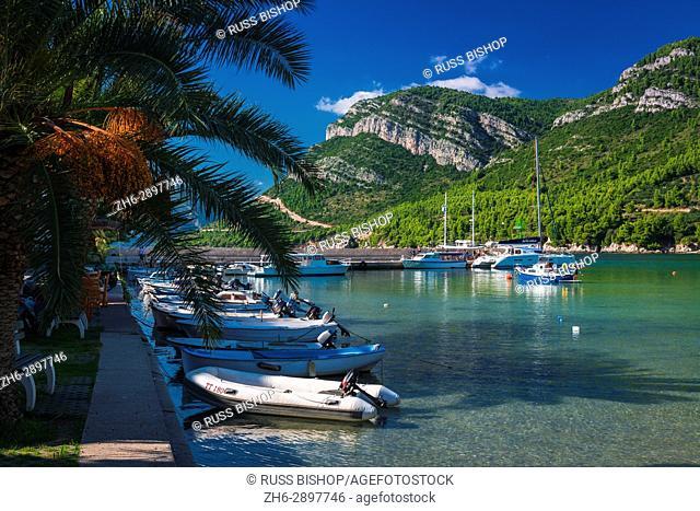 Boats in the marina, Zuljana, Dalmatia, Croatia