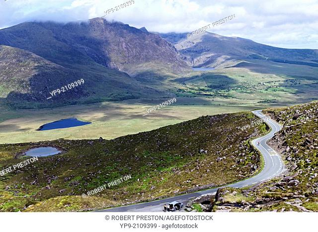 The Conor Pass in County Kerry, Ireland